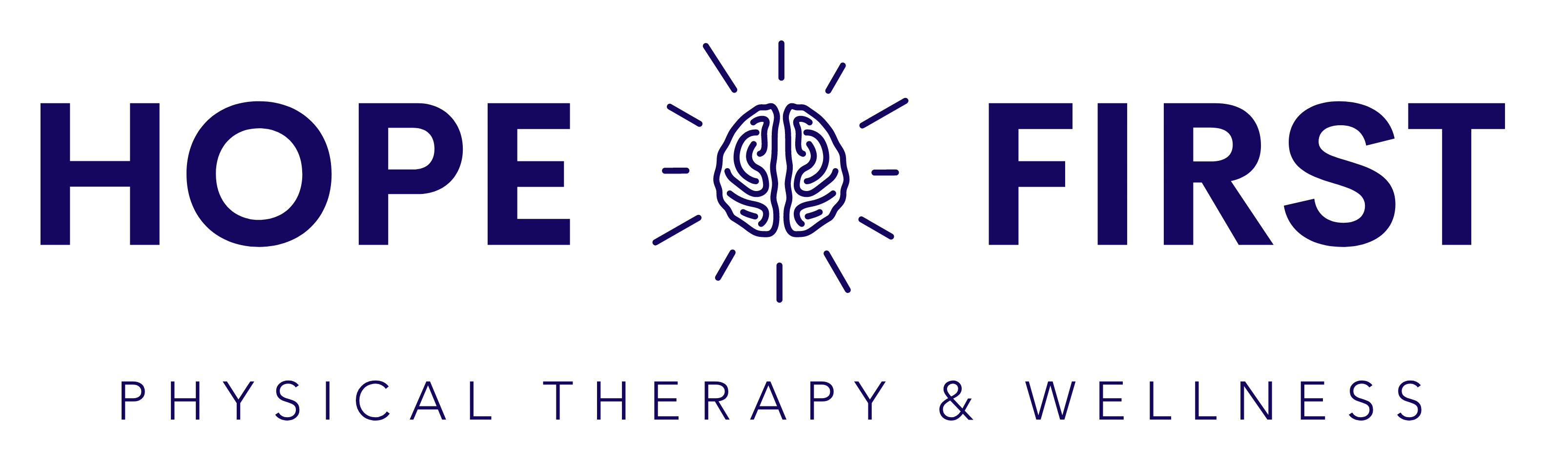 Hope First Physical Therapy and Wellness Logo